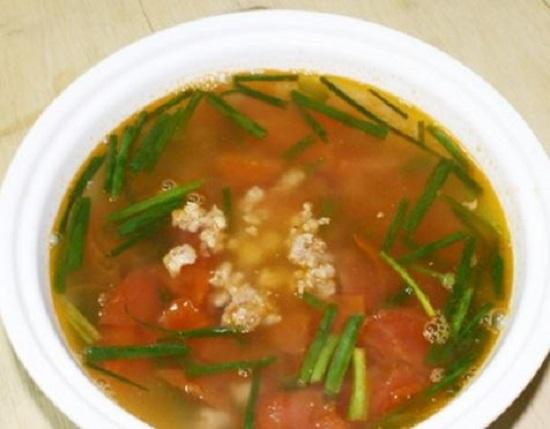 món canh thịt nấu chua ship đêm