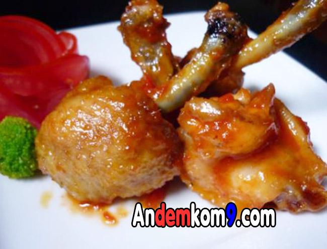 Giao cánh gà chua ngọt đêm Kom9 Hà Nội
