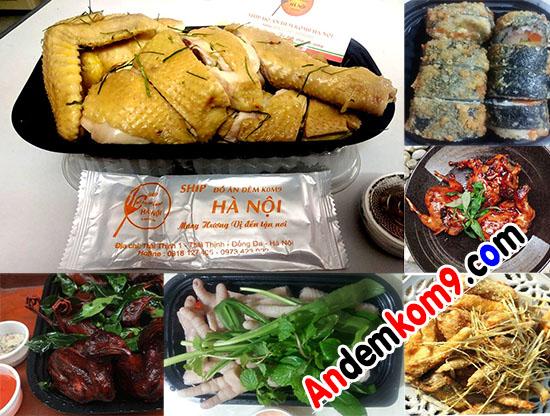 Gọi đồ ăn đêm ở Hà Nội ship tận nơi (KHÔNG GHÉP ĐƠN)