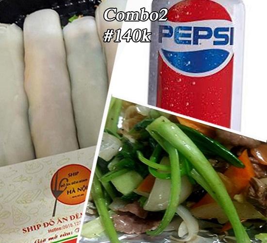 Gói combo giá món ăn đêm giá rẻ CB02