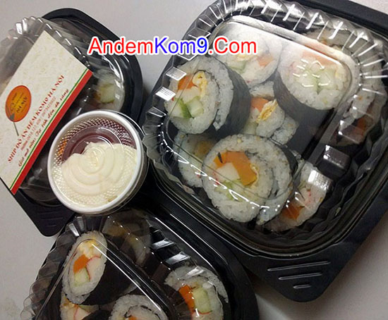 Kimbap thường ship tận nhà Hà Nội nhanh