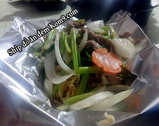 Ăn gì ngon với món mì xào bò rau cải