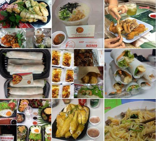 Ship đồ ăn đêm khu vực phố Hàng Mã, quận Hoàn Kiếm