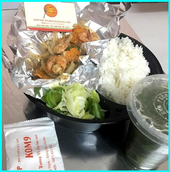 Kom9 – Ship đồ ăn đêm Nghi Tàm – nhiều món ngon!
