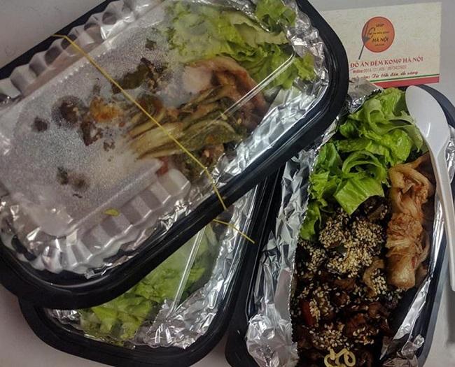 Giao đồ ăn khuya khách sạn Mường Thanh