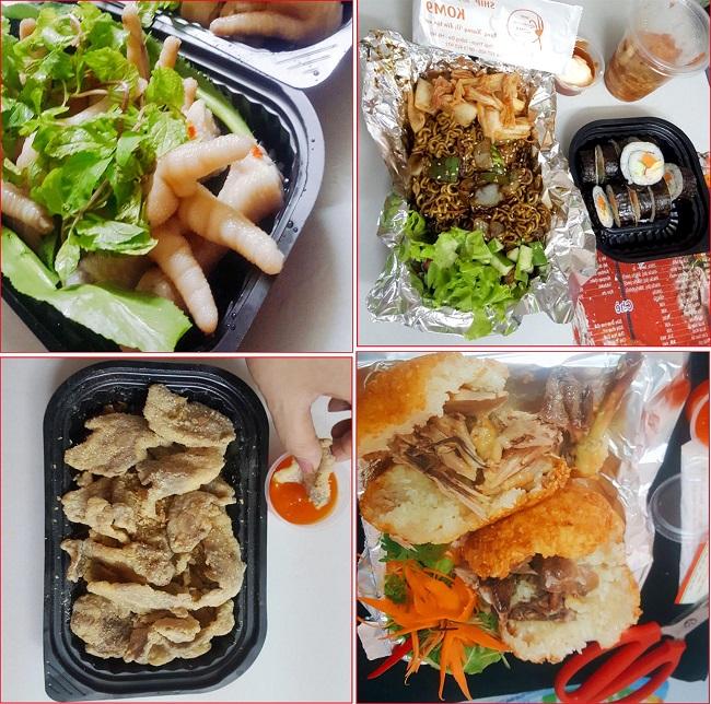 Ăn vặt Hà Nội online với nhiều món hấp dẫn
