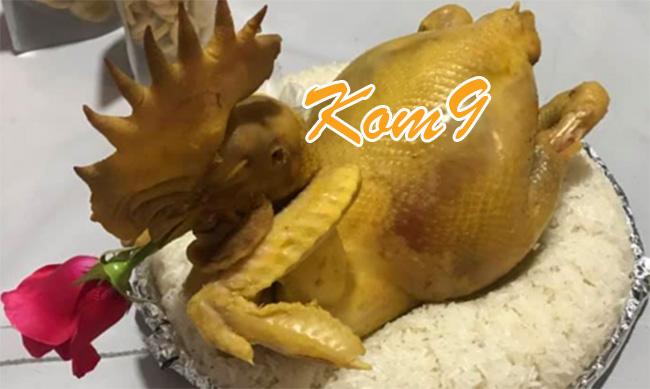 Kom9 – Ship gà cúng Hà Nội nguyên cả con tận nhà