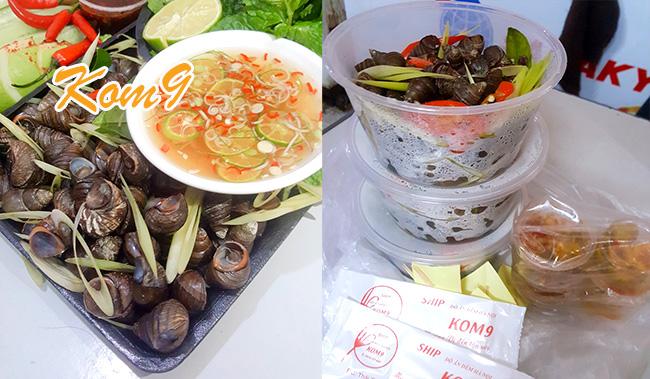 Quán ship ốc luộc ngon ở quận Thanh Xuân, Giao Thâu Đêm