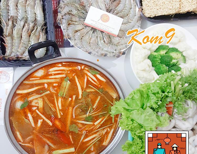 Lẩu thái hải sản tôm yum - Hướng dẫn cách làm